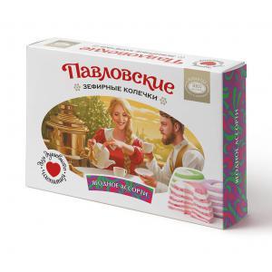 Зефирные колечки павловские со вкусом ягодного ассорти (140 г)