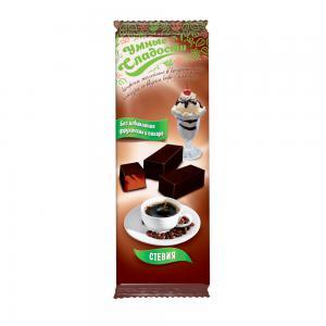 Конфеты желейные в глазури со вкусом кофе-пломбир,