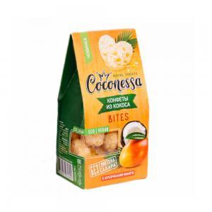 Конфеты из кокоса с кусочками манго Coconessa, See-ECO Foods (90 г)