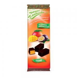 Конфеты желейные со вкусом манго-маракуйя,