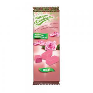 Конфеты желейные со вкусом лепестков чайной розы,