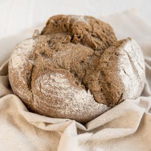 Хлеб «Крестьянский» подовый ремесленный, Био-Хутор (400 г)