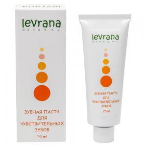 Зубная паста для чувствительных зубов, Levrana (75 мл)