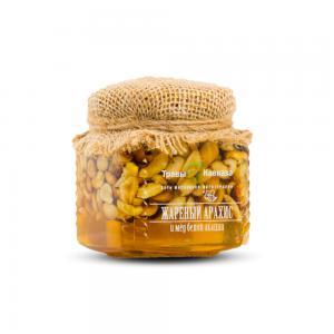 Жареный арахис и мёд белой акации,