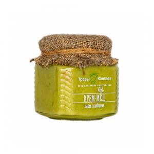Крем-мёд с лаймом и имбирем,
