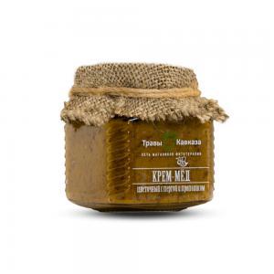Крем-мёд с пергой и прополисом,