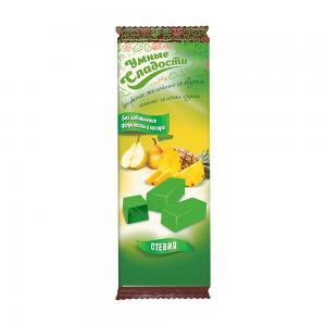 Конфеты желейные со вкусом ананас-зеленая груша,