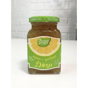 Джем лимон с имбирем,